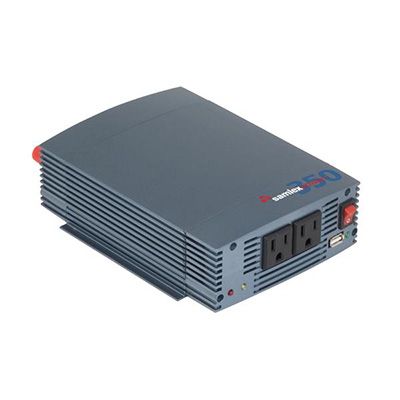 Power Inverter - Samlex Solar SSW Series Pure Sine-Wave Inverter - 350 Watts