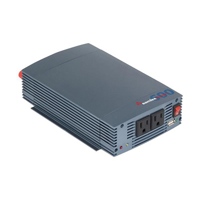 Power Inverter - Samlex Solar SSW Series Pure Sine-Wave Inverter - 600 Watts