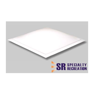 RV Skylight - Specialty Recreation Exterior Dome - 18.5