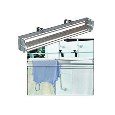 RV Clothesline - Smart Dryer - Ladder/Wall Mount -  Stainless Steel