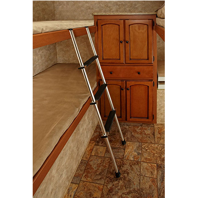 Bunk Ladder - Stromberg Carlson 4-Step Aluminum Bunk Ladder - Silver