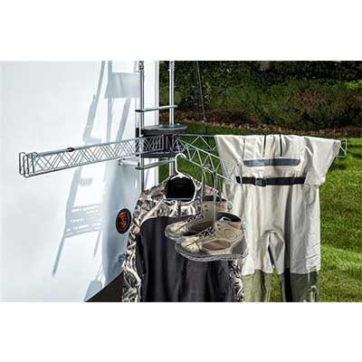 RV Clothesline - Stromberg Carlson Extend-A-Line Clothes Dryer With 6 Independent Arms