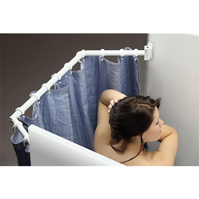 Shower Extension - Stromberg Carlson Extend-A-Shower - White