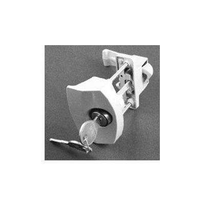 Trailer Door Latch - Strybuc - Push Button - White