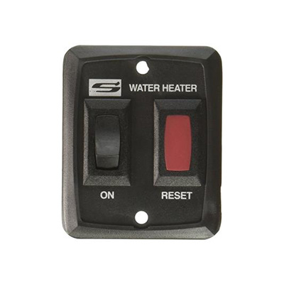 Water Heater Power Switch - Suburban D And DE Water Heater/Nautilus IW60 Switch - Black