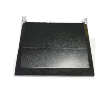 Range Cover - Suburban Bi-Fold Stove Top Cover - Black