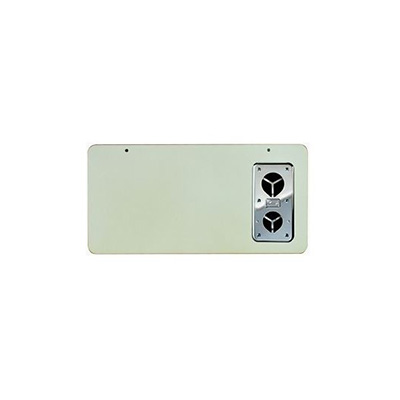 RV Furnace Door - Suburban SF-Series Exterior Access Furnace Door Colonial White