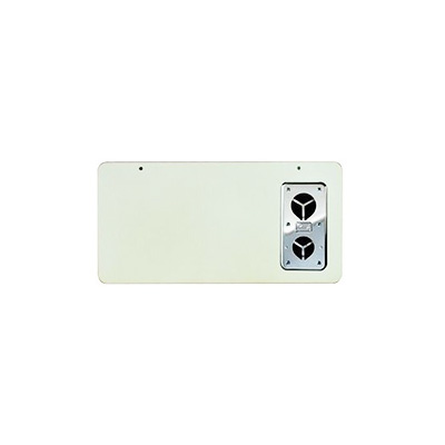 Furnace Door - Suburban SF Series Exterior Access Furnace Door - Polar White