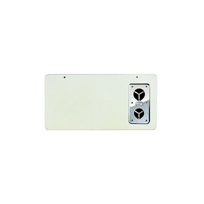 RV Furnace Door - Suburban SF Series Exterior Access Furnace Door - Polar White