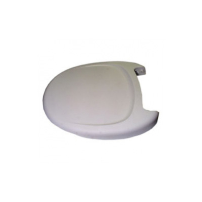 RV Toilet Seat - Thetford - Aqua-Magic V - Includes Cover - White
