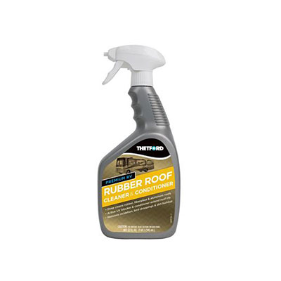 Rubber Roof Cleaner - Thetford Non-Toxic Rubber Roof Cleaner And Conditioner - 32 Ounces