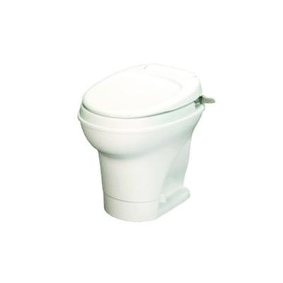 RV Toilets - Aqua-Magic V Toilet - High Profile - Hand Flush - White