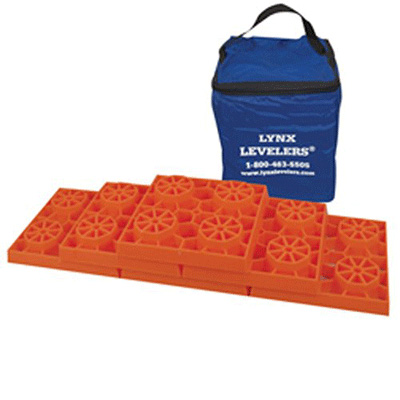 Leveling Blocks - Tri-Lynx Leveling Blocks With Storage Case - 10 Per Pack