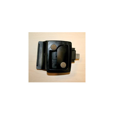 RV Door Latch - TriMark - Entrance - Deadbolt - Black