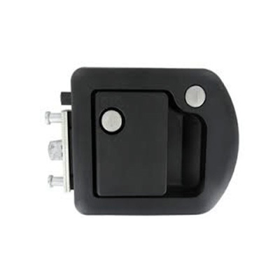 Motorhome Door Latch - TriMark - Entrance - Deadbolt - Black
