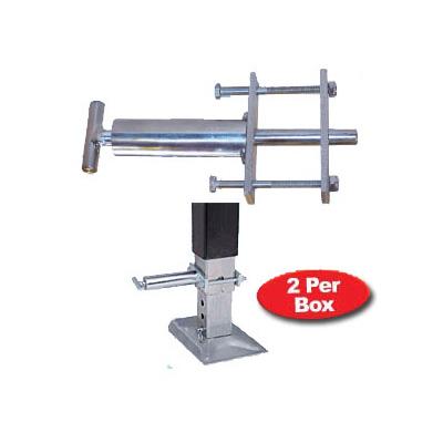 "Leg Pins -Ultra-Fab Spring Loaded 7/16"" Fifth Wheel Landing Gear Steel Leg Pins- 2 Pack"