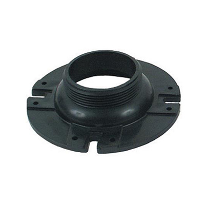 Toilet Floor Flange - Valterra - ABS - 3 Inch Male Threads - Black