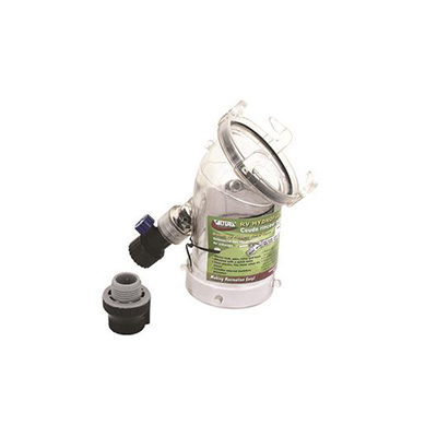 Holding Tank Rinser - Valterra Hydroflush Holding Tank Cleaner Adapter - 45 Degrees