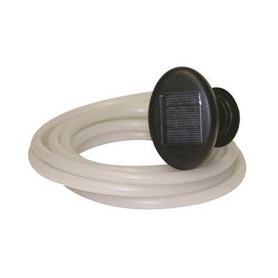 Solar Lights - Valterra LED 18' Solar Rope Light With On/Off/Blink Control Switch - Clear