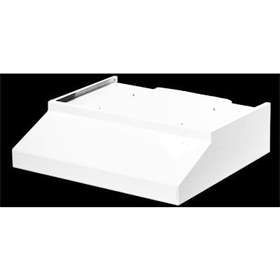 RV Range Hood - Ventline - Ductless - 12V - With Light - White