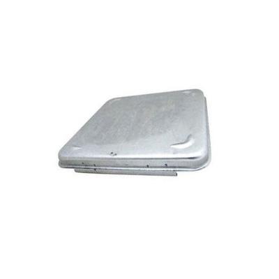Roof Vent LId - Ventline Metal Lid Fits Ventadome Vents - Silver
