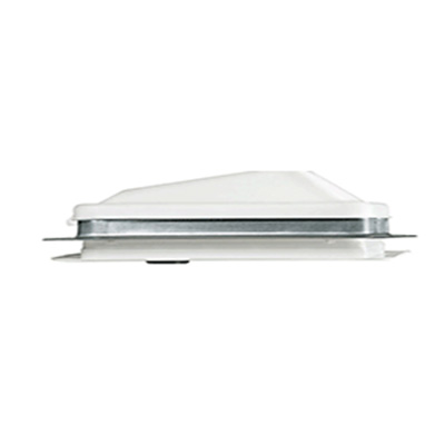 Roof Vent - Ventline Ventadome Non-Power Manual Open Vent - White Lid