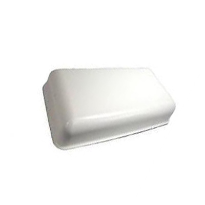 Refrigerator Roof Vent Cap - Ventline Small-Size Steel Refrigerator Roof Vent Cap - White