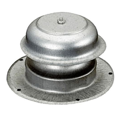Sewer Vent Cap - Ventline Galvanized-Steel Sewer Vent Cover With Round Base