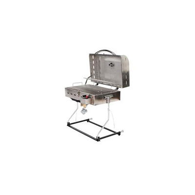 Barbecues - Faulkner Portable Propane BBQ - Stainless Steel
