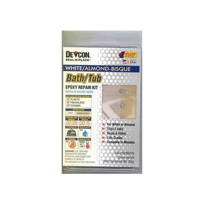 Epoxy Repair Kit - AP Products Fiberglass, Plastic & Porcelain Repair Kit White & Almond