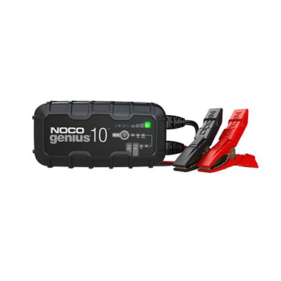 Battery Charger - Noco Genius10 Battery Charger - 10A - 6V And 12V Batteries