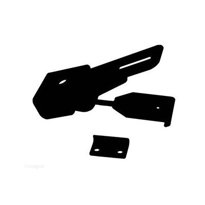 Camper Latches - RV Designer Folding Camper Roof Latch - Black