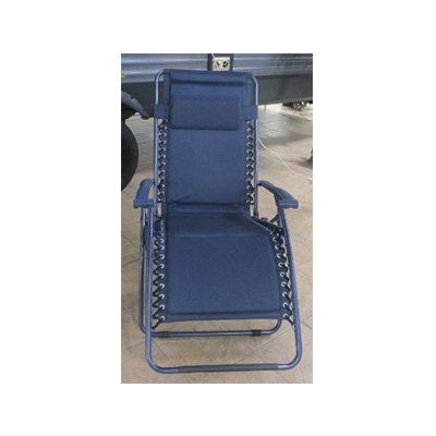 Camping Chairs - Ming's Mark Zero Gravity Recliner XL - Blue
