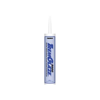 Caulking - TremGlaze S600 Silicone Glazing Sealant 10.1 Ounce Tube - White