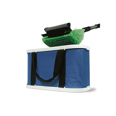 Buckets - Camco Collapsible Wash Bucket With Storage Bag - 5 Gallon