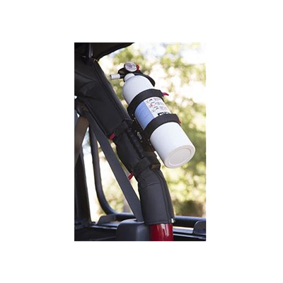 Fire Extinguisher Mounts - Rugged Ridge Fire Extinguisher Mount With Quick Release