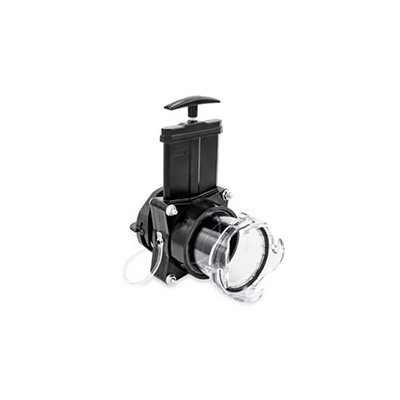 Gate Valves - Camco 3 Inch RV Gate Valve With Built-In Clear Adapter