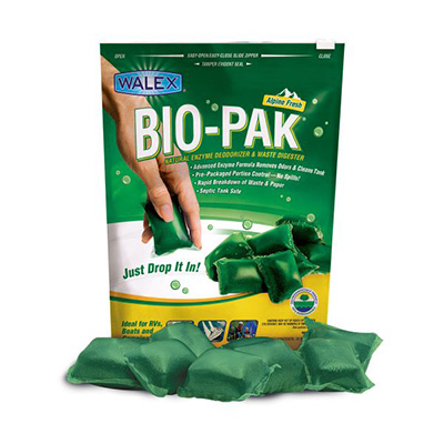 Holding Tank Tablets - Bio-Pak Enzyme Deodorizer And Waste Digesters - 10 Per Pack