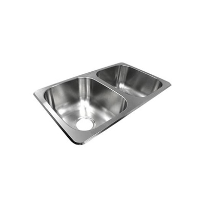 Sinks - Lasalle Bristol Double Bowl Stainless Steel Kitchen Sink