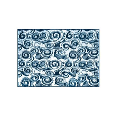 Camping Mats - Camco Swirl Outdoor Mat 8' x 16' - Blue & White