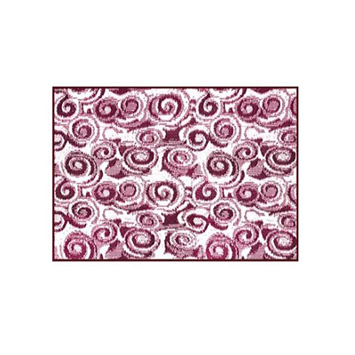 Camping Mats - Camco Swirl Outdoor Mat 8' x 16' - Burgundy & White