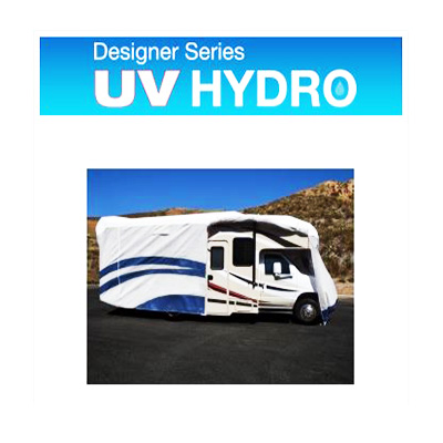 Class C Motorhome Cover - UV Hydro Designer Series Cover With Storage Bag 29'1