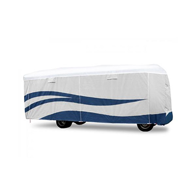 Motorhome Cover - UV Hydro Designer Series Class A Cover With Storage Bag 25'L To 28'L