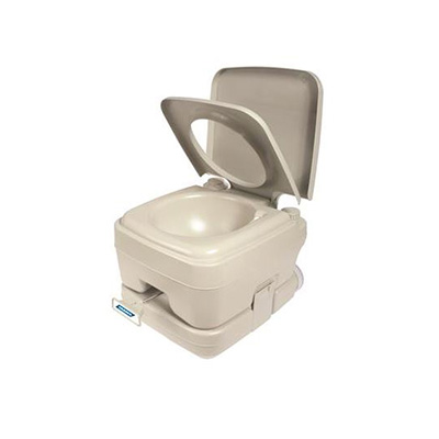 Portable Toilet - Camco Portable Toilet With Detachable 2.6 Gallon Holding Tank
