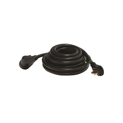 Power Cord - Mighty Cord 30A RV Extension Cord 25'L Black