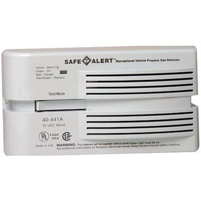 Propane Detectors - Safe-T-Alert 40 Series Surface Mount Propane Detector 12V - White