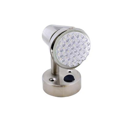 Reading Lights - Diamond Group 12V LED 185 Lumen Reading Light With Switch - Silver