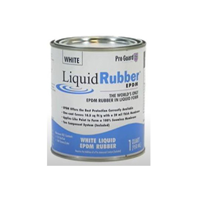 Roof Repair Liquids - Pro Guard Moisture Cure Liquid Rubber 1 Gallon - White