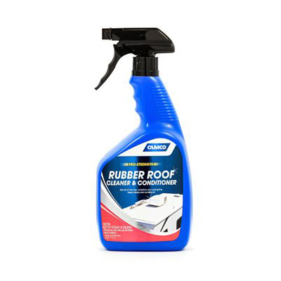 Rubber Roof Cleaner - Camco Rubber Roof Cleaner & Conditioner - 32 Ounces
