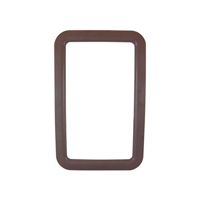 RV Entrance Door Window Frame - Valterra Exterior Side Plastic Window Frame - Brown